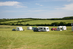 Image: The Rally Field at Bagwell Farm, Weymouth, Dorset